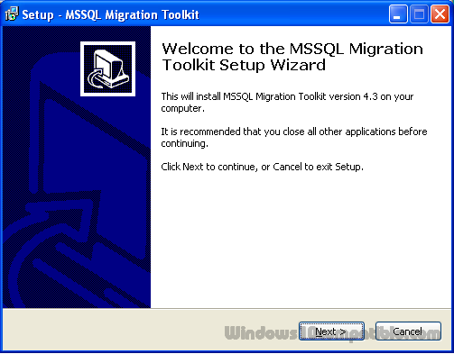 MSSQL Migration Toolkit 4 3 Free download